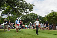 Kevin Na (USA) heads down 3 during round 3 of the 2019 Charles Schwab Challenge, Colonial Country Club, Ft. Worth, Texas,  USA. 5/25/2019.<br /> Picture: Golffile | Ken Murray<br /> <br /> All photo usage must carry mandatory copyright credit (© Golffile | Ken Murray)