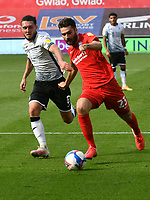 Football - 2020 /2021 EFL Championship - Swansea City vs Birmingham City <br />      <br /> Jon Toral of Birmingham on the attack<br /> in a match played without fans at the Liberty Stadium<br /> <br /> COLORSPORT/WINSTON BYNORTH