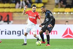 January 16, 2018 - Monaco, France - 14 ALASSANE PLEA (nice) - 08 JOAO MOUTINHO  (Credit Image: © Panoramic via ZUMA Press)