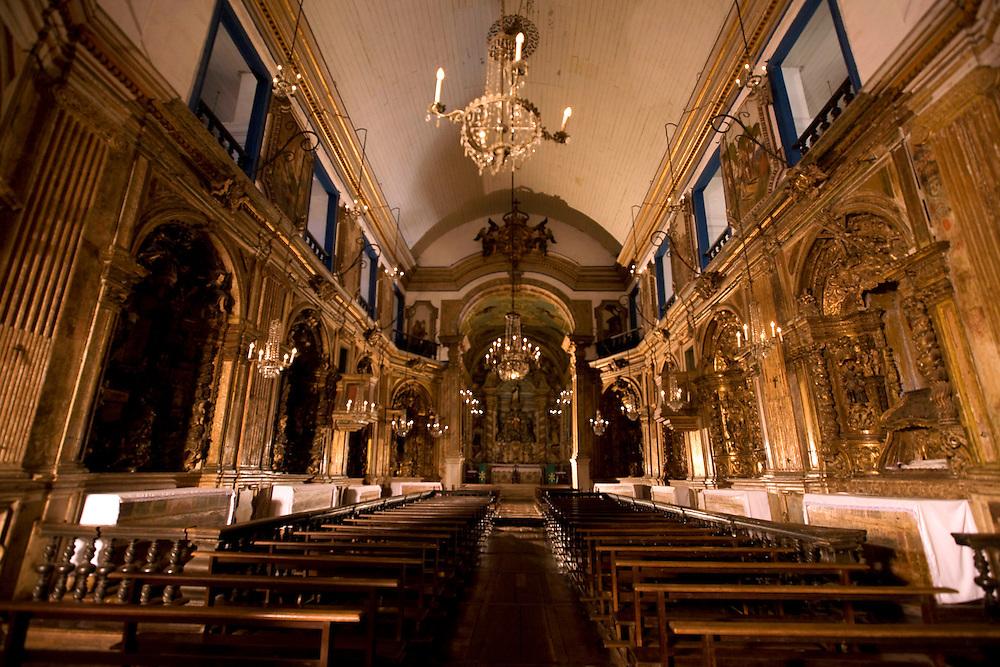 Ouro Preto_MG, Brasil..Imagem interna da Igreja Nossa Senhora da Conceicao...Nossa Senhora da Conceicao church in Ouro Preto...Foto: BRUNO MAGALHAES /  NITRO.