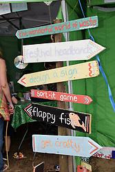 Children's area at Latitude Festival 2016, Henham Park, Suffolk, UK