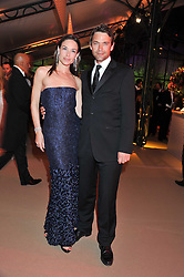 DOUGRAY SCOTT and CLAIRE FORLANI at the Raisa Gorbachev Foundation Gala held at the Stud House, Hampton Court, Surrey on 22nd September 22 2011