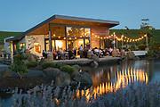 Pre-IPNC winemaker alfresco dinner, Saffron Fields vineyards, Yamhill-Carlton AVA, Willamette Valley, Oregon
