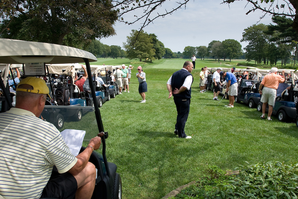 Charity golf event for The Tomorrow Fund for Children With Cancer, Warwick Country Club, Warwick, RI.