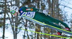 05.02.2011, Heini Klopfer Skiflugschanze, Oberstdorf, GER, FIS World Cup, Ski Jumping, Probedurchgang, im Bild Jurij Tepes (SOL) , during ski jump at the ski jumping world cup Trail round in Oberstdorf, Germany on 05/02/2011, EXPA Pictures © 2011, PhotoCredit: EXPA/ P. Rinderer