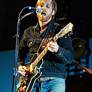 WASHINGTON, DC - March 9th, 2012 -  Dan Auerbach of The Black Keys performs during a sold out show at the Verizon Center in Washington, D.C.  The duo's seventh studio album, El Camino, was released last December and debuted at number 2 of the Billboard 200. (Photo by Kyle Gustafson/For The Washington Post)