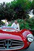 GP TAZIO NUVOLARI 2012. BOGLIOLI, MASERATI  A6GCS 1954