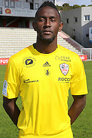 Jules Goda during the photocall of Ac Ajaccio for new season on October 17th 2016<br /> Photo : Jean Pierre Belzit / Icon Sport