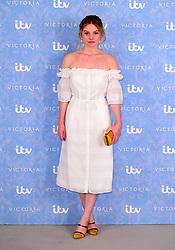 Nell Hudson attending the Victoria Season 2 Screening at the Ham Yard Hotel, London.