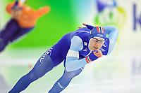 BILDET INNGÅR IKKE I NOEN FASTAVTALER. ALL NEDLASTING BLIR FAKTURERT.<br /> <br /> Skøyter<br /> Foto: imago/Digitalsport<br /> NORWAY ONLY<br /> <br /> Eisschnelllauf Heerenveen 12.11.2017 Weltcup Saison 2017 / 2018 1000 m Männer Herren Havard Holmefjord Lorentzen (NOR) *** Speed \u200b\u200bskating Heerenveen 12 11 2017 World Cup season 2017 2018 1000 m Men Men Håvard Holmefjord Lorentzen NOR