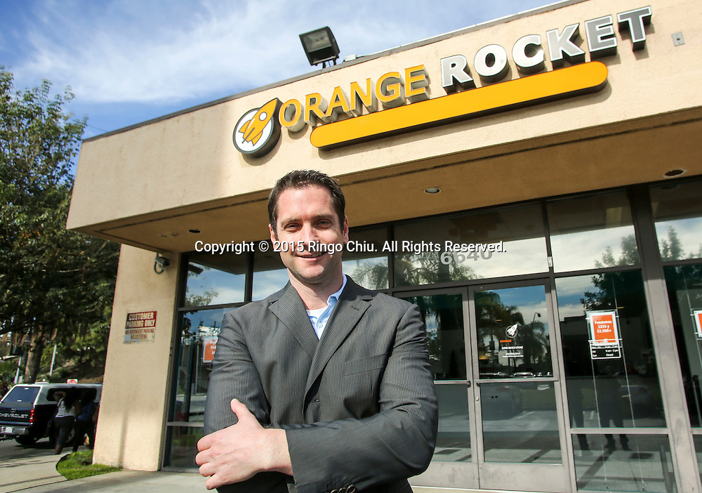 William Lucking, owner of payday lender Orange Rocket Cash in Long Beach.(Photo by Ringo Chiu/PHOTOFORMULA.com)<br /> <br /> Usage Notes: This content is intended for editorial use only. For other uses, additional clearances may be required.