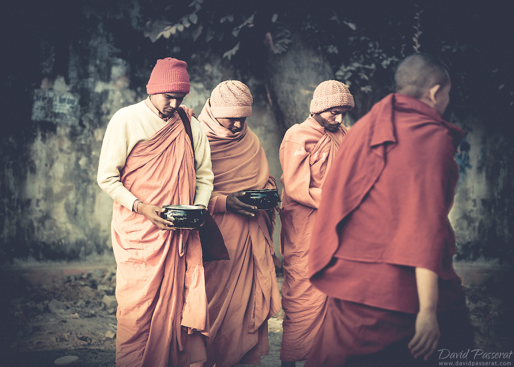 Penitents in Varanasi working on their inner humility.