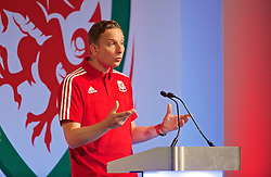 NEWPORT, WALES - Sunday, May 22, 2016: Liverpool's first-team development coach Pepijn Lijnders during the Football Association of Wales' National Coaches Conference 2016 at the Celtic Manor Resort. (Pic by David Rawcliffe/Propaganda)