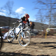 Katherine Shields in action during the Cyclo-Cross, Supercross Cup 2013 UCI Weekend at the Anthony Wayne Recreation Area, Stony Point, New York. USA. 24th November 2013. Photo Tim Clayton