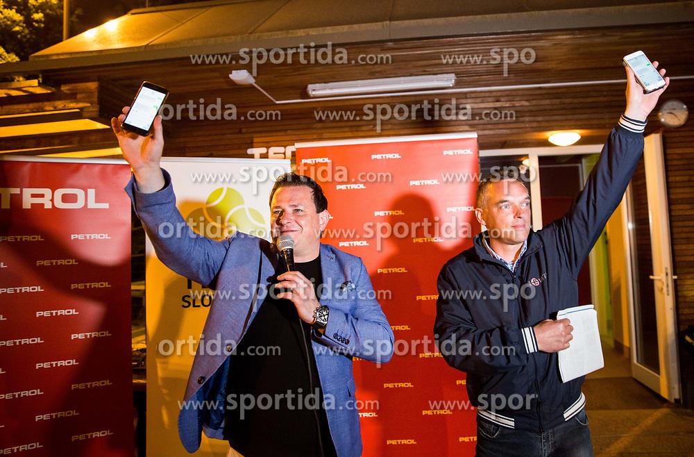 Rado Mulej and Gasper Bolhar at Petrol VIP tournament 2018, on May 24, 2018 in Sports park Tivoli, Ljubljana, Slovenia. Photo by Vid Ponikvar / Sportida