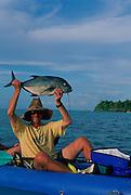 Kayak Fishing, Savaii, Samoa<br />