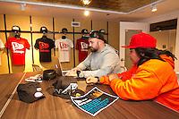 New Era cap design mentoring workshop held at the New Era store in Chicago