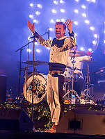 Kaiser Chiefs live at  KNEBWORTH Pub in the park Drive in  Garden Party photo by Mark Anton Smith