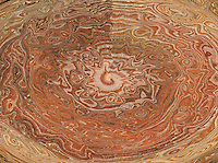 abstract brown round decorations with many shades in rough texture.