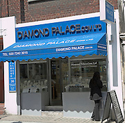 Diamond Palace shop, Hatton Garden, London, England