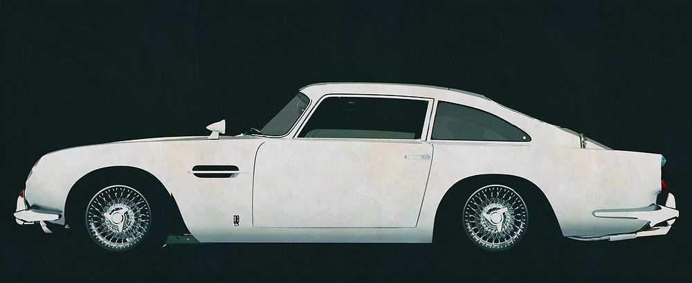 The Aston Martin DB5, Aston Martin's most famous model, is the symbol of the British automobile industry. Who doesn't know this Aston Martin from the James Bond movies where this Aston Martin was always destroyed after a chase scene. When seeing such a scene, every Aston Martin lover broke his or her heart.<br /> <br /> This painting of the Aston Martin DB5 can be printed very large on different materials. The work has a panoramic proportions and is very suitable to add a detail in a workspace, showroom or just at home that will impress your visitors. –<br /> <br /> BUY THIS PRINT AT<br /> <br /> FINE ART AMERICA<br /> ENGLISH<br /> https://janke.pixels.com/featured/aston-martin-the-icon-of-the-british-car-industry-jan-keteleer.html<br /> <br /> WADM / OH MY PRINTS<br /> DUTCH / FRENCH / GERMAN<br /> https://www.werkaandemuur.nl/nl/shopwerk/Aston-Martin-DB5-zijaanzicht/589350/132<br /> <br /> -