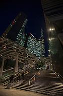 Milano,Quartiere di Porta Nuova.
