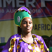 Hundreds attend The Africa Centre Summer Festival 2018 celebrating African and diaspora music, dance, fashion and art! with hundreds of stall and delicrous food and drink at The Africa Centre on 18 August 2018, Southwark, London, UK.