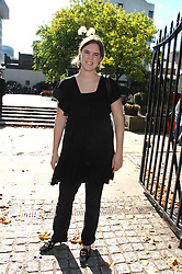 VICTORIA AITKEN at the memorial service of Isabella Blow held at the Guards Chapel, London W1 on 18th September 2007.<br /><br />NON EXCLUSIVE - WORLD RIGHTS