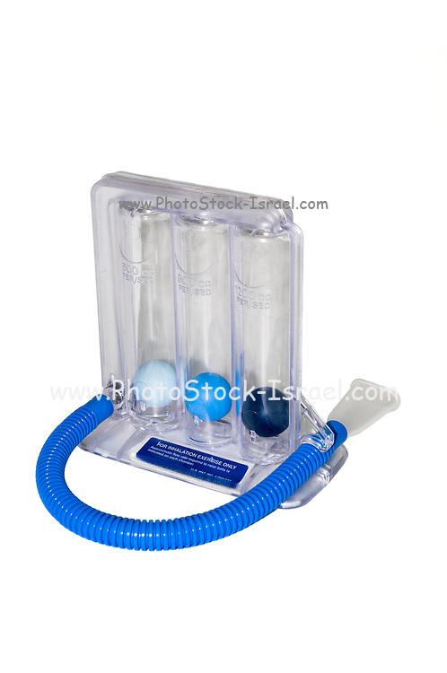 3 balls Spirometer Breathing Exercise apparatus
