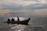Local shark fishermen<br /> Quetzalito<br /> Guatemala<br /> Central America
