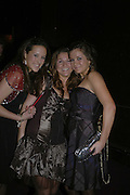 Nicky Henning, Hannah Robinson and Anna Cordweell, Feathers Ball in aid of the Feathers Clubs. Hammersmith Palais. London. 18 December 2006. ONE TIME USE ONLY - DO NOT ARCHIVE  © Copyright Photograph by Dafydd Jones 248 CLAPHAM PARK RD. LONDON SW90PZ.  Tel 020 7733 0108 www.dafjones.com