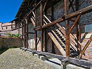 Średniowieczne mury obronne.<br /> Medieval walls.