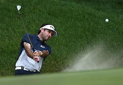 June 24, 2018 - Cromwell, CT, USA - Bubba Watson hits out of a bunker on the 15th hole during the final round of the Travelers Championship at TPC River Highlands in Cromwell, Conn., on Sunday, June 24, 2018. (Credit Image: © Brad Horrigan/TNS via ZUMA Wire)