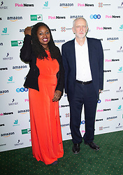 Pink News Awards 2019 <br /> At Church House, London, Great Britain <br /> 16th October 2019 <br /> <br /> Dawn Butler, Jeremy Corbyn <br /> <br /> <br /> Photograph by Elliott Franks