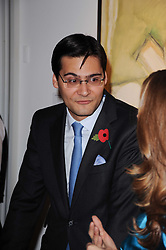FRANCESCO GOULANDRIS at the Krug Mindshare auction held at Sotheby's, New Bond Street, London on 1st November 2010.