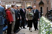 Hare Majesteit de Koningin is aanwezig bij de start van het Vierde International Polar Year in Nederland in het Natuurmuseum Fryslan te Leeuwarden .<br /> <br /> Op de foto:  Beatrix