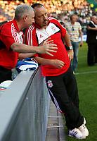 Photo: Maarten Straetemans.<br /> Shanghai Shenhua v Liverpool. Rotterdam Tournament. 03/08/2007.<br /> Rafael Benitez (Liverpool)