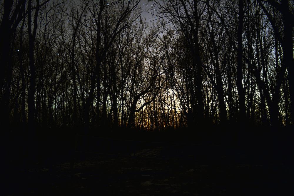 Ohio at night.