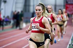 David Hemery Valentine Invitational<br /> Indoor Track & Field at Boston University , womens 3000 meters, heat 1,  , Bowerman TC, Nike, Elise Cranny, , Nike, Bowerman TC,