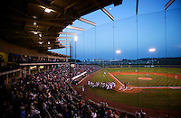 FAYETTEVILLE, AR - April 28:  Arkansas Razorback baseball game at Baum Stadium on the campus of the University of Arkansas on April 28, 2006 in Fayetteville, Arkansas.   (Photo by Wesley Hitt/Getty Images) *** Local Caption ***
