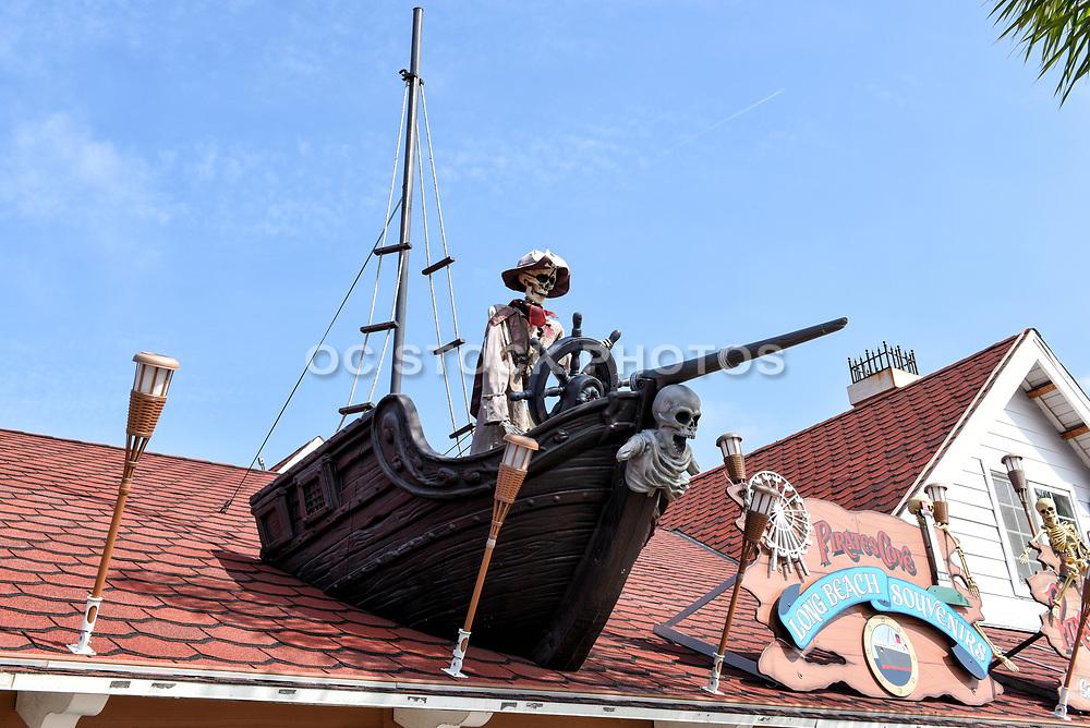 Pirates Cove Roof Top Close Up Long Beach Souvenirs at Shoreline Village