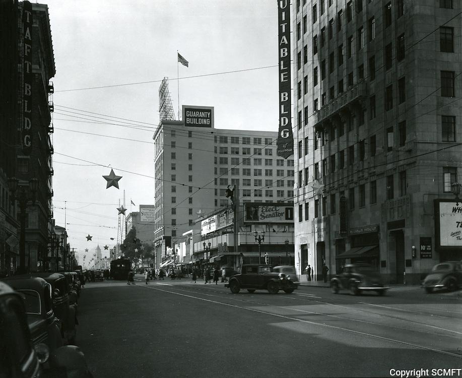1934 Hollywood Blvd. and Vine St.