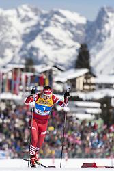 February 21, 2019 - Seefeld In Tirol, AUSTRIA - 190221 Natalia Matveeva of Russia competes in women's cross-country skiing sprint qualification during the FIS Nordic World Ski Championships on February 21, 2019 in Seefeld in Tirol..Photo: Joel Marklund / BILDBYRÃ…N / kod JM / 87879 (Credit Image: © Joel Marklund/Bildbyran via ZUMA Press)
