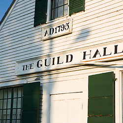 The old Guild Hall in Guildhall, Vermont.