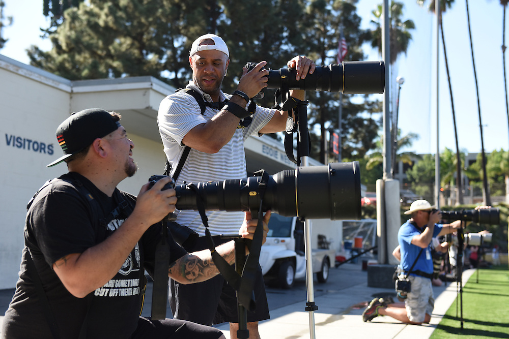 10/9/143:59:34 PM --- SSAXI 2014 ---<br /> <br /> <br /> Photo by Christy Radecic / Sports Shooter Academy Behind the Scenes with the cast and crew of Sports Shooter Academy.