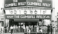 The Gumball Rally screens at the Paramount Theater on Hollywood Blvd.