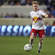 Dax McCarty, New York Red Bulls, in action during the New York Red Bulls V Toronto FC  Major League Soccer regular season match at Red Bull Arena, Harrison. New Jersey. USA. 29th September 2012. Photo Tim Clayton