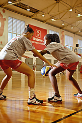 Equipe durante treino no ADC Bradesco Esporte e Educação, em Osasco. FOTO: Jefferson Bernardes/Preview.com