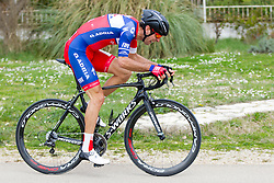 Radoslav Rogina of KK Adria Mobil during prologue (2km) of 13th Istrian Spring Trophy cycling race on March 10, 2016 in Umag, Croatia. Photo by Urban Urbanc / Sportida