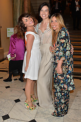 Left to right, JAIME WINSTONE, DAISY LOWE and MELANIE BLATT at the annual Royal Academy of Art Summer Party held at Burlington House, Piccadilly, London on 4th June 2014.